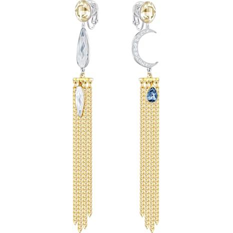 Gipsy Clip Earrings - Swarovski, 5297946