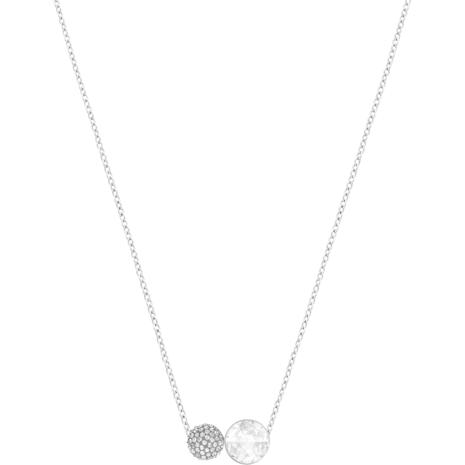 Hote Versatile Pendant, Gray, Rhodium plating - Swarovski, 5300330