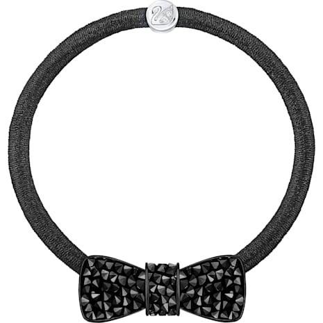 Hamper 彈力髮圈, 黑色 - Swarovski, 5347831