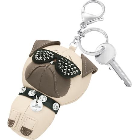 Roxie Bag Charm, Multi-coloured, Stainless steel - Swarovski, 5352888