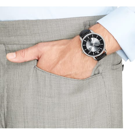 Atlantis Limited Edition Automatic Men's 워치, 블랙, 스테인레스 스틸 - Swarovski, 5364209