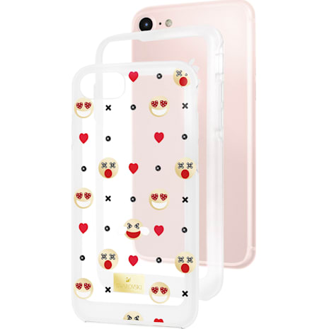 Humorist Smartphone Case with Bumper, iPhone® 8 Plus, Multi-coloured - Swarovski, 5364496