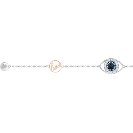 Swarovski Remix Collection Evil Eye Strand, 紫色, 多種金屬潤飾 - Swarovski, 5365749