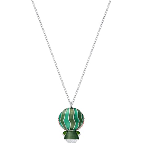 Hello Kitty Wattermelon Pendant, Multi-colored, Rhodium plated - Swarovski, 5373134