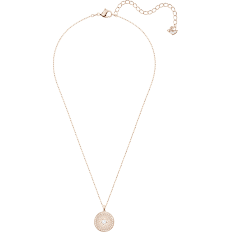Pendentif Locket, rose, Métal doré rose - Swarovski, 5374560
