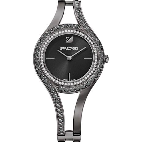 Reloj Eternal, Brazalete de metal, negro, PVD acerado - Swarovski, 5376659