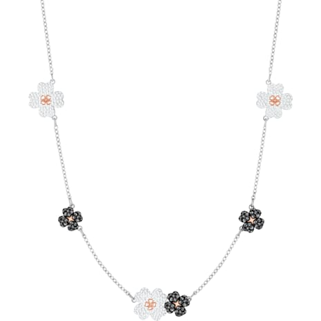 Latisha Choker, Multi-colored, Mixed metal finish - Swarovski, 5389491