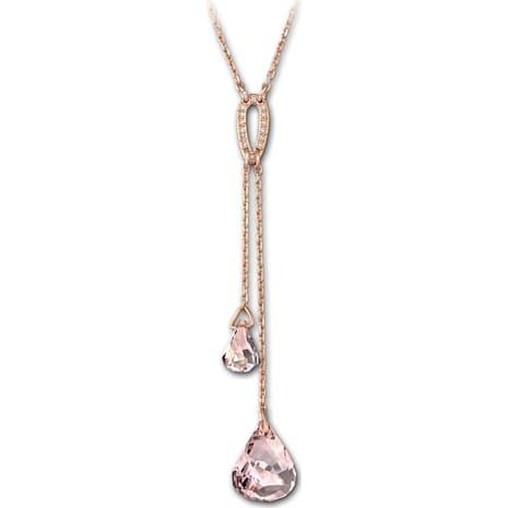 Lunar Strandage, Pink, Rose-gold tone plated - Swarovski, 5393025