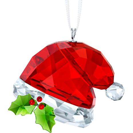 聖誕帽掛飾 - Swarovski, 5395978