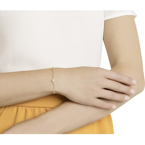 Swarovski Remix Collection Golden Strand, Multi-colored, Gold-tone plated - Swarovski, 5403221