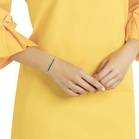 Locket Bracelet, Black, Gold-tone plated - Swarovski, 5406996
