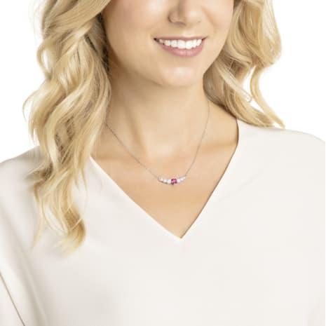 prix incroyable moins cher nouveau authentique Collier Love, blanc, Métal rhodié