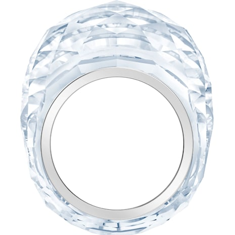 Nirvana Ring, silberfarben, Edelstahl - Swarovski, 5410311