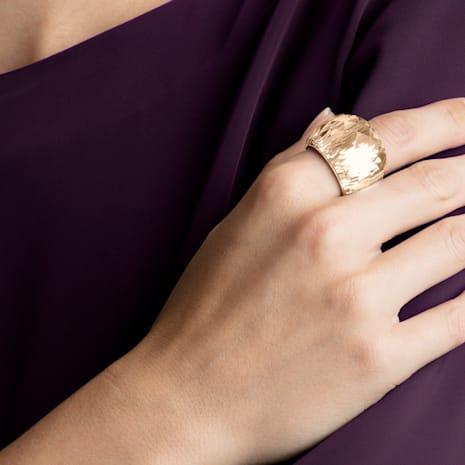 Nirvana Ring, goldfarben, Rosé vergoldetes PVD-Finish - Swarovski, 5410328