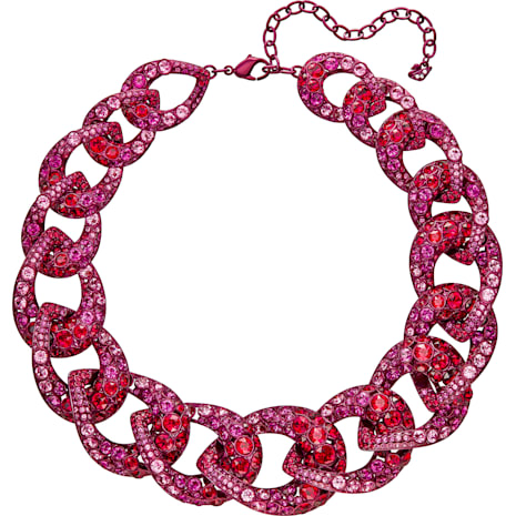 Tabloid Halskette, mehrfarbig - Swarovski, 5410988