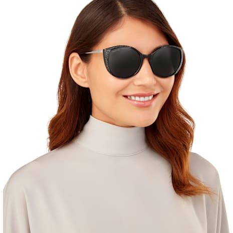 Swarovski Sunglasses, SK0168 - 01A, Black - Swarovski, 5411620