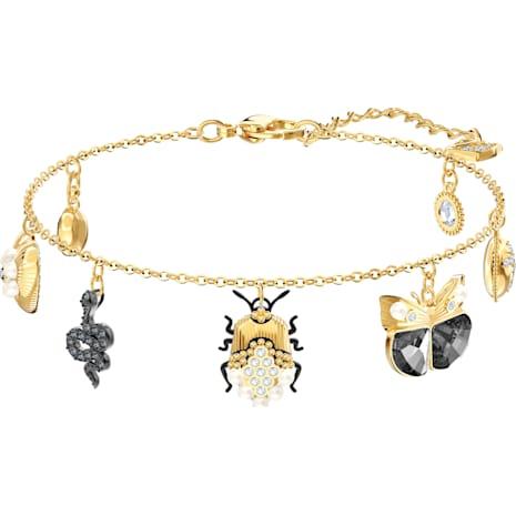 Magnetic Bracelet, Multi-coloured, Mixed metal finish - Swarovski, 5416774