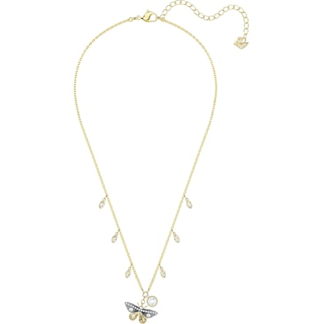 Magnetic Necklace, Multi-coloured, Mixed metal finish - Swarovski, 5416786