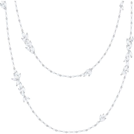 Louison Strandage, White, Rhodium plated - Swarovski, 5418111