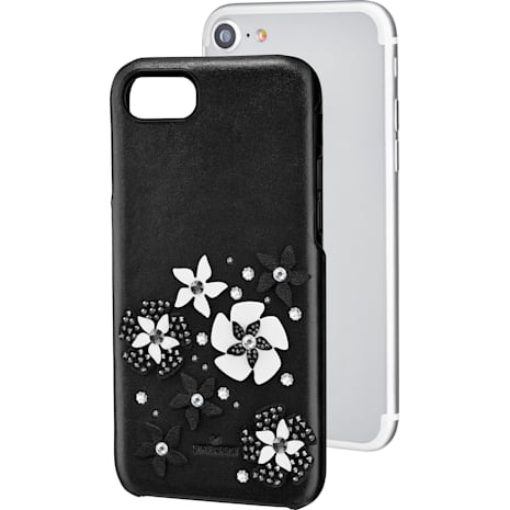 Mazy Smartphone Case with integrated Bumper, iPhone® 8, Black - Swarovski, 5427019