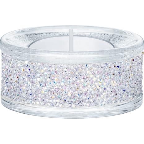 Shimmer Tea Light Holders, Crystal AB - Swarovski, 5428722