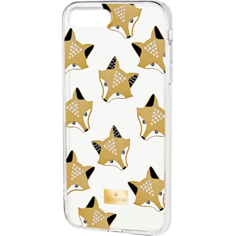 March Fox Smartphone Case with integrated Bumper, iPhone® 8 Plus, Multi-colored - Swarovski, 5429134