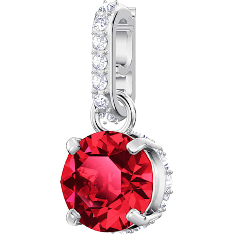 Swarovski Remix Collection Charm, janvier, rouge, Métal rhodié - Swarovski, 5437315