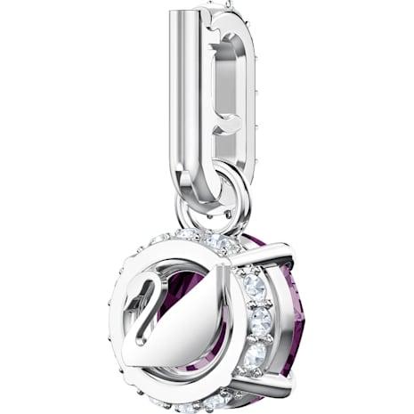 Swarovski Remix Collection Charm, Februar, violett, Rhodiniert - Swarovski, 5437323