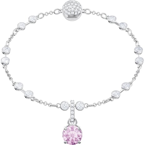 Swarovski Remix Collection Charm, junio, lila, Baño de Rodio - Swarovski, 5437324