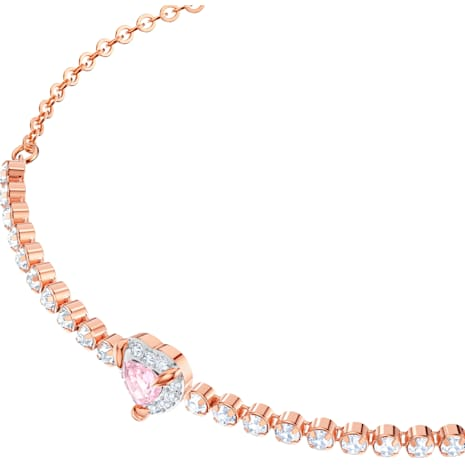 Braccialetto One, multicolore, Placcato oro rosa - Swarovski, 5446299
