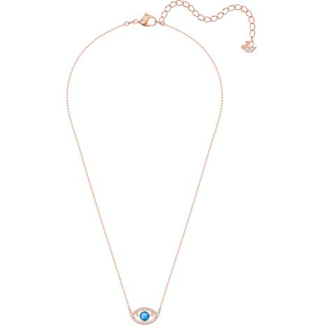 Luckily Колье, Многоцветный Кристалл, Покрытие оттенка розового золота - Swarovski, 5448611