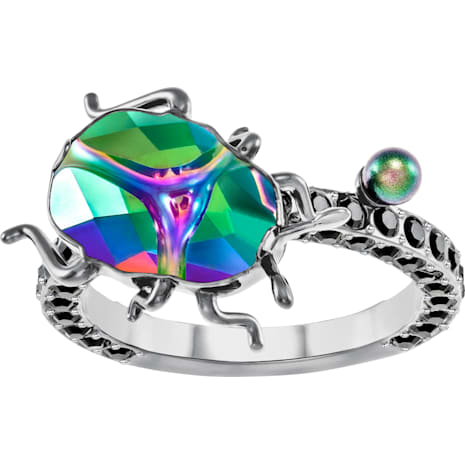Magnetized Motif Ring, Multi-coloured - Swarovski, 5448903