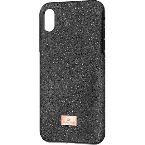 High Smartphone Schutzhülle mit Stoßschutz, iPhone® XR, schwarz - Swarovski, 5449146
