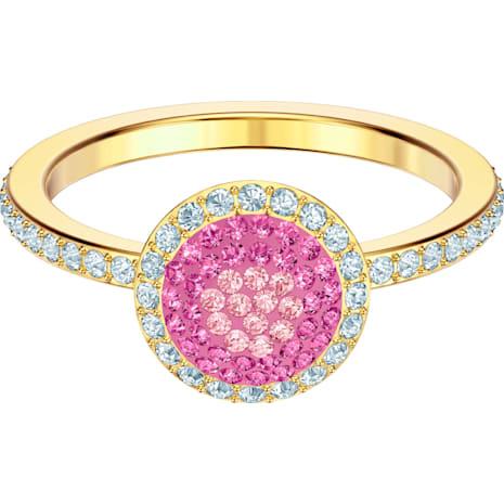 No Regrets Кольцо, Многоцветный Кристалл, Покрытие оттенка золота - Swarovski, 5457494