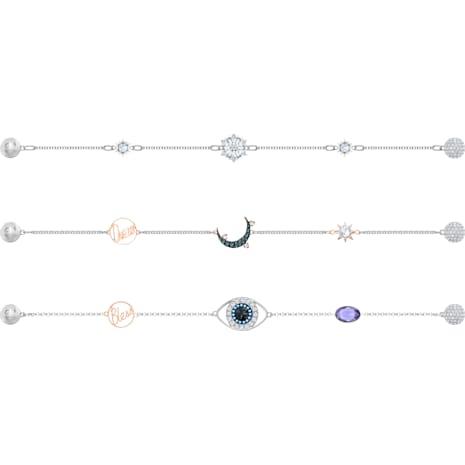Swarovski Remix Collection Parure de Noël, multicolore, combinaison de métaux plaqués - Swarovski, 5459356