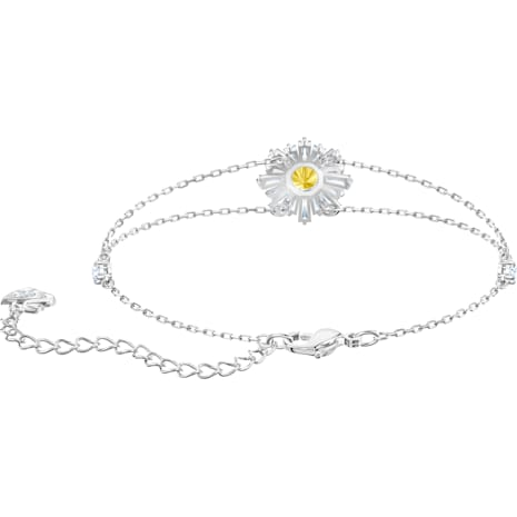 Sunshine Armband, weiss, Rhodiniert - Swarovski, 5459594