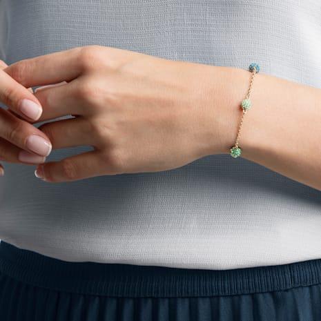 Swarovski Remix Collection Pop Strand, vert, Métal doré rose - Swarovski, 5462653