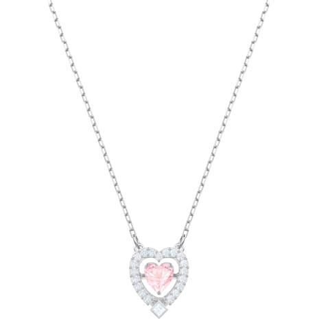 Swarovski Sparkling Dance Heart ネックレス - Swarovski, 5465284