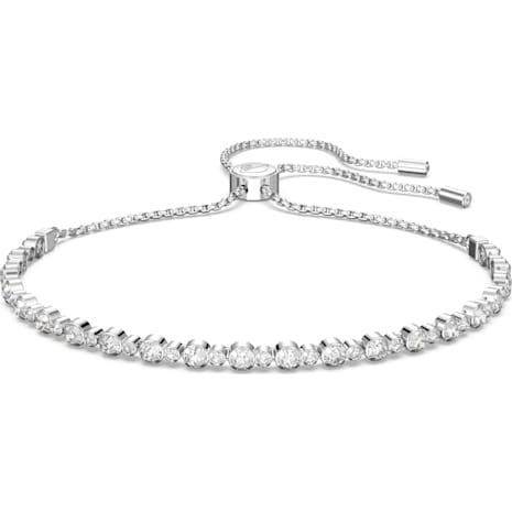 Subtle Bracelet White Rhodium Plated