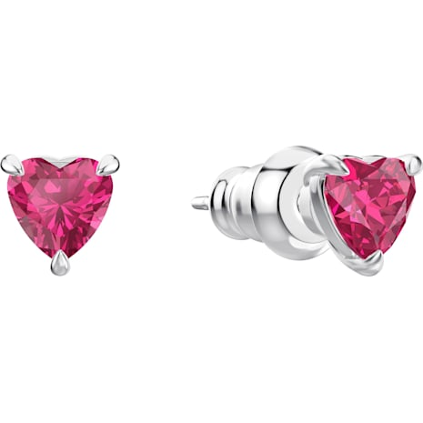 Set One, rosso, Placcatura rodio - Swarovski, 5470602