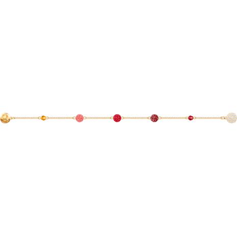 Swarovski Remix Collection Pop Strand, 多色設計, 鍍金色色調 - Swarovski, 5479015