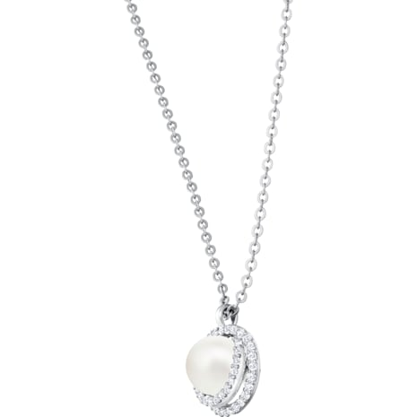 Originally Set, White, Rhodium plated - Swarovski, 5479911