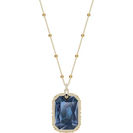 Pendentif Tarot Magic, bleu, Métal doré - Swarovski, 5482977
