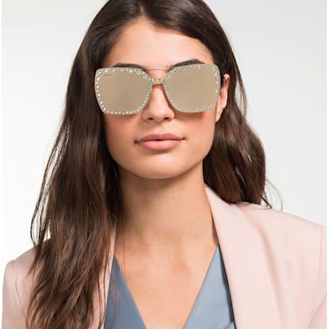 Swarovski Güneş Gözlükleri için Click-on Maske Çerçeve, SK5330-CL 32G, Kahverengi - Swarovski, 5483809