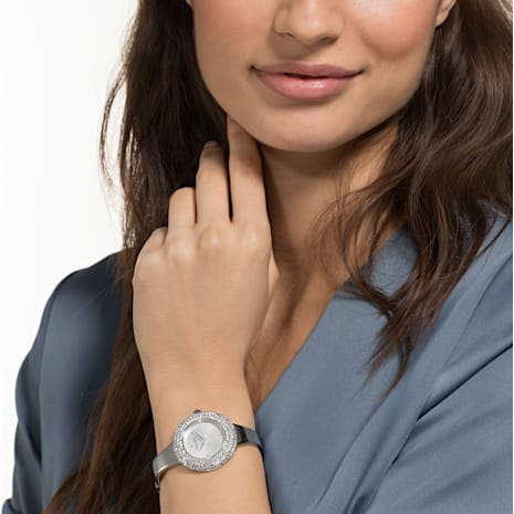 Crystal Rose Watch, Metal bracelet, Stainless steel - Swarovski, 5483853