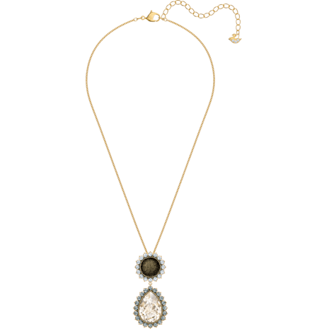 Millennium Pendant, Multi-coloured, Gold-tone plated - Swarovski, 5484172