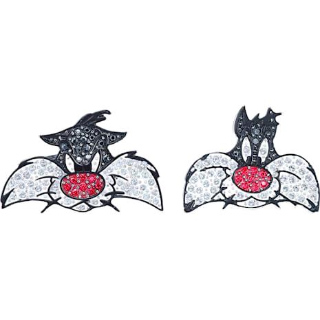 Looney Tunes 阿寶 袖扣, 多色設計, 鍍銠 - Swarovski, 5484687