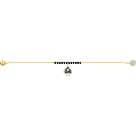Swarovski Remix Collection Spade Strand, mehrfarbig, Vergoldet - Swarovski, 5486590
