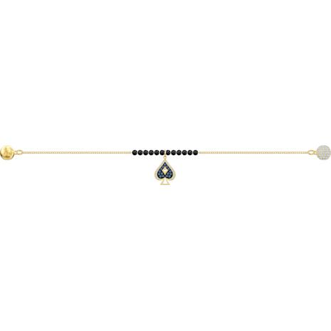 Swarovski Remix Collection Spade Strand, Multi-coloured, Gold-tone plated - Swarovski, 5486590