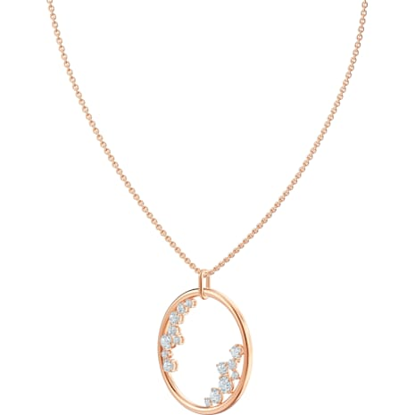 North Pendant, White, Rose-gold tone plated - Swarovski, 5487069